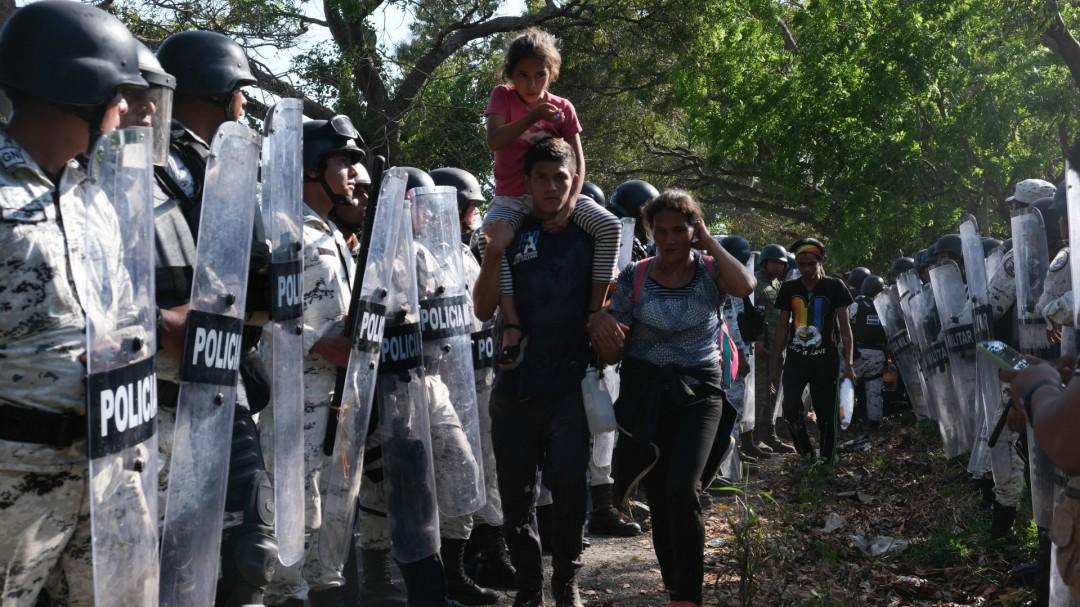 ONU: Preocupa trato a migrantes en la frontera sur de México