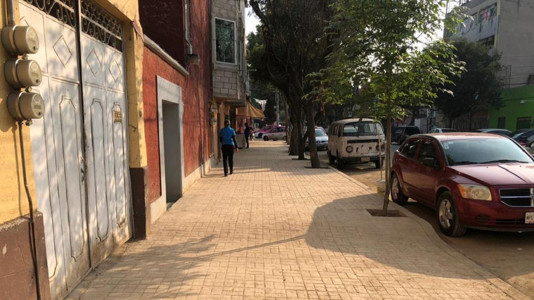 Invierte alcaldía Venustiana Carranza 48 MDP para construir banquetas