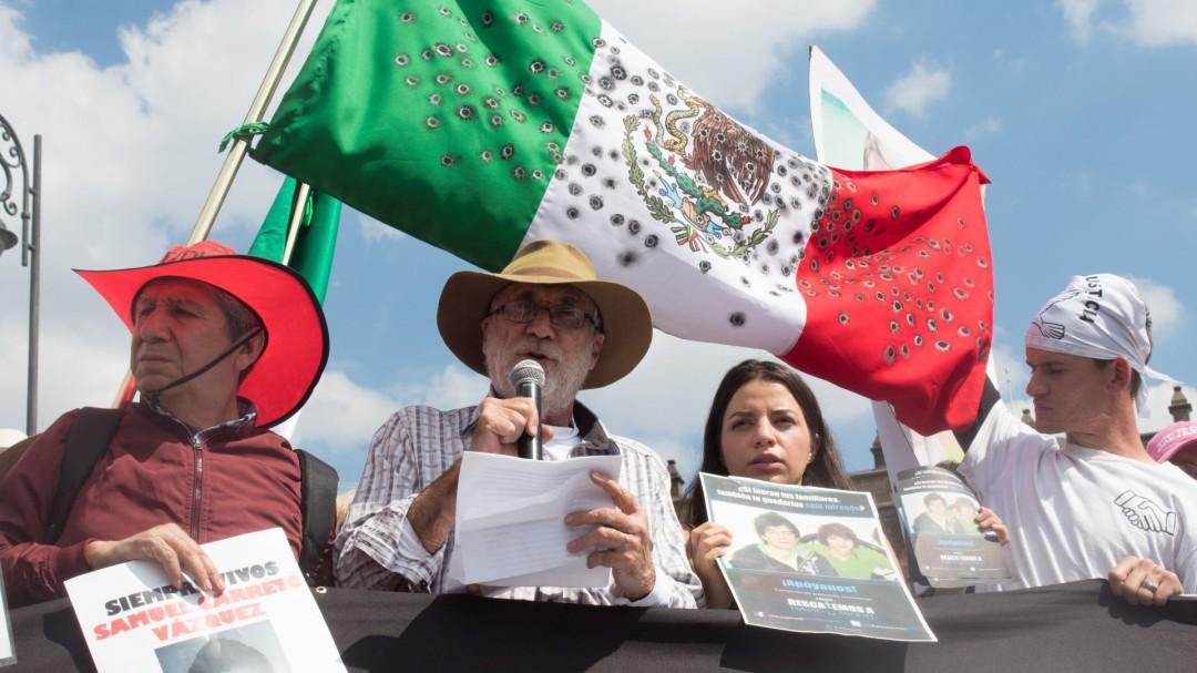 Es la primera vez que recibimos tanto odio: Javier Sicilia