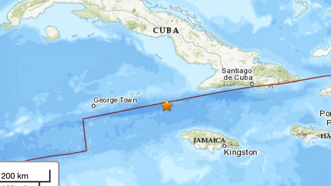 Sismo de 7.7 sacude costas de Jamaica y Cuba