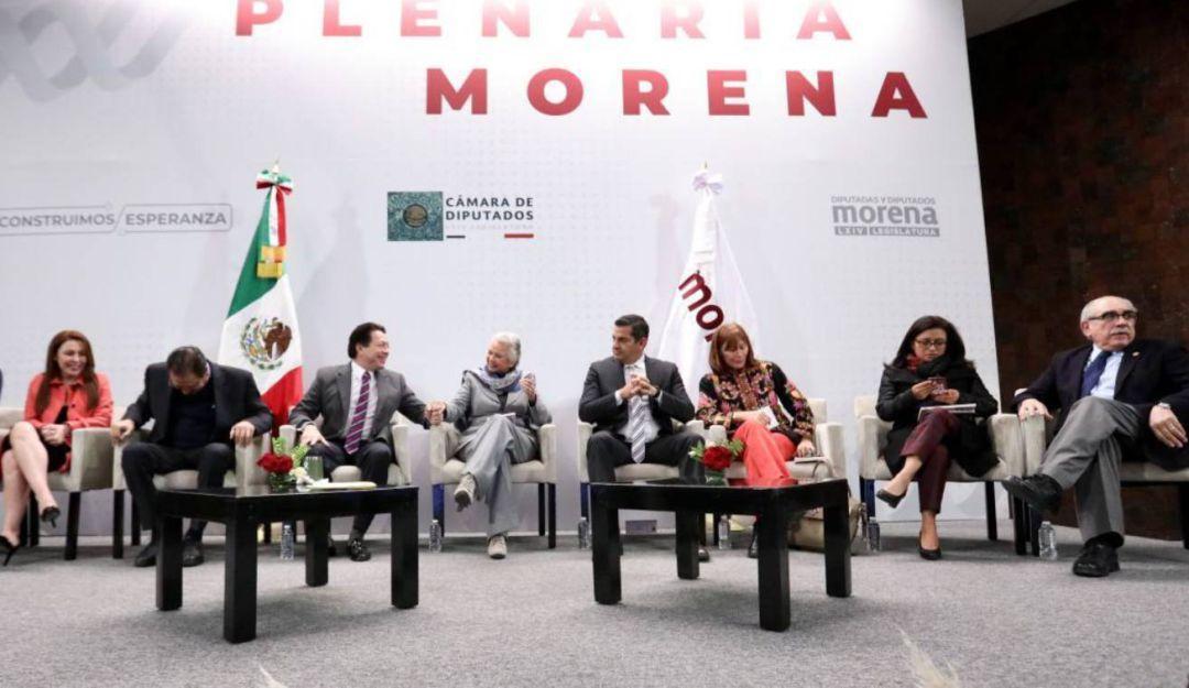 Arrancan plenarias de diputados de Morena en privado