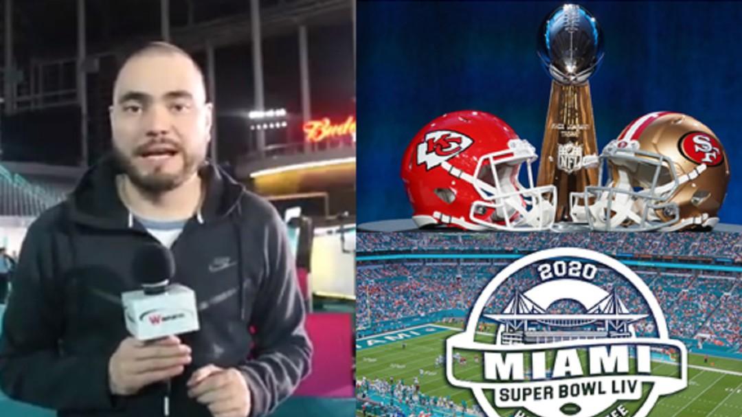 Todo listo para la Edición 54 del Super Bowl: Carlos Contreras