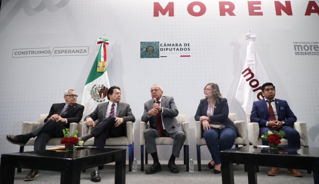 Diputados de Morena respaldan a titular de Migración, Francisco Garduño