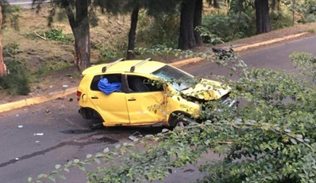 Joven fallece tras chocar su auto contra un árbol