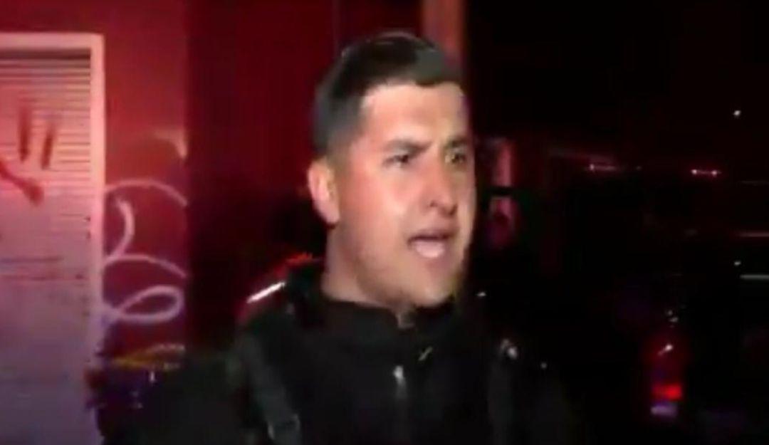 Policía del Estado agrede a reportero y camarógrafo