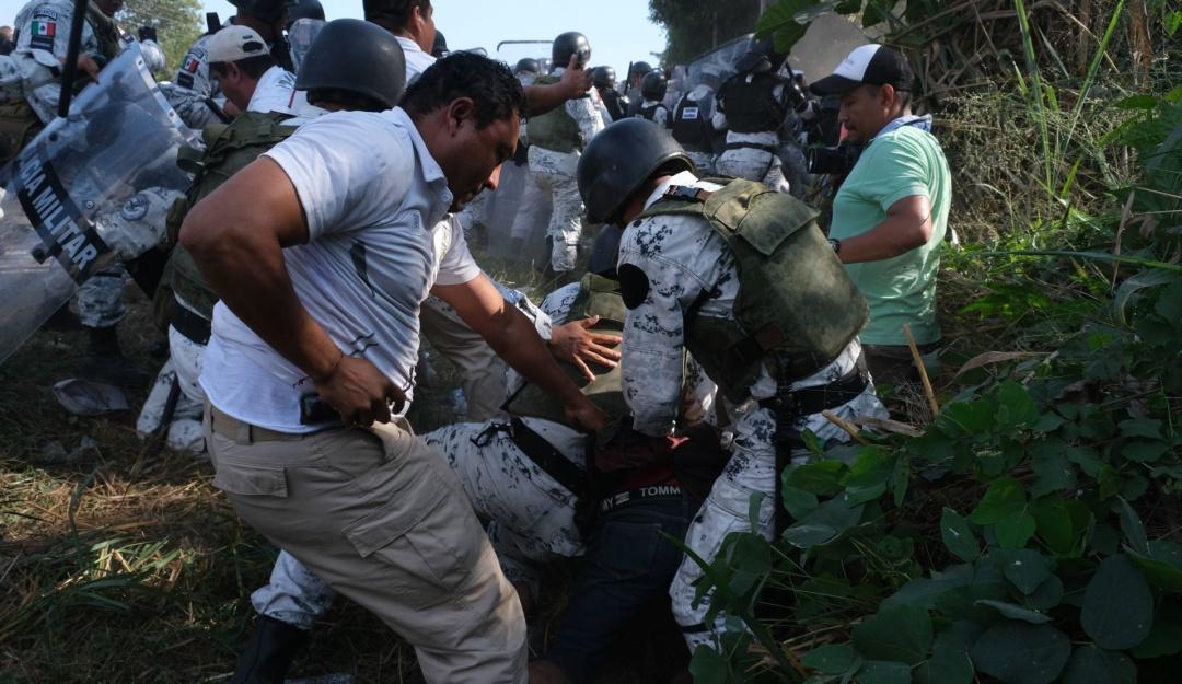 No se reforzará a GN en frontera sur por 'Caravana del Diablo': Durazo