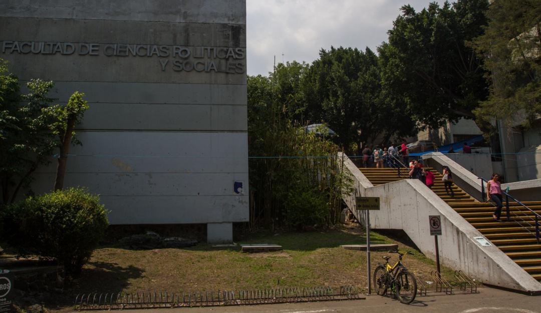 Exige UNAM liberación de Facultad de Ciencias Políticas