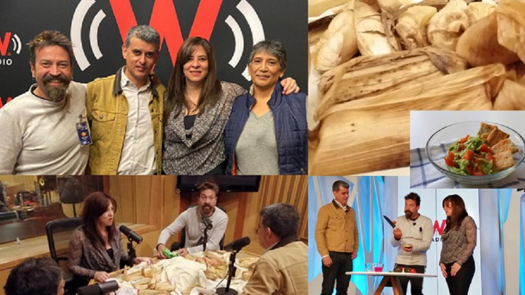 Tamales entre lo sacro, los hongos y los sabores de Tláhuac