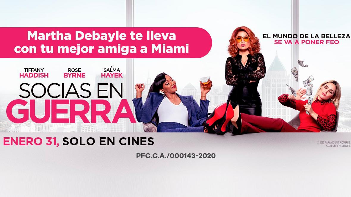 """La película """"Socias en Guerra"""" te lleva a Miami"""