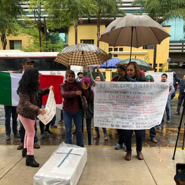 Vecinos de El Salto presentan queja por estudio sobre contaminación oculto