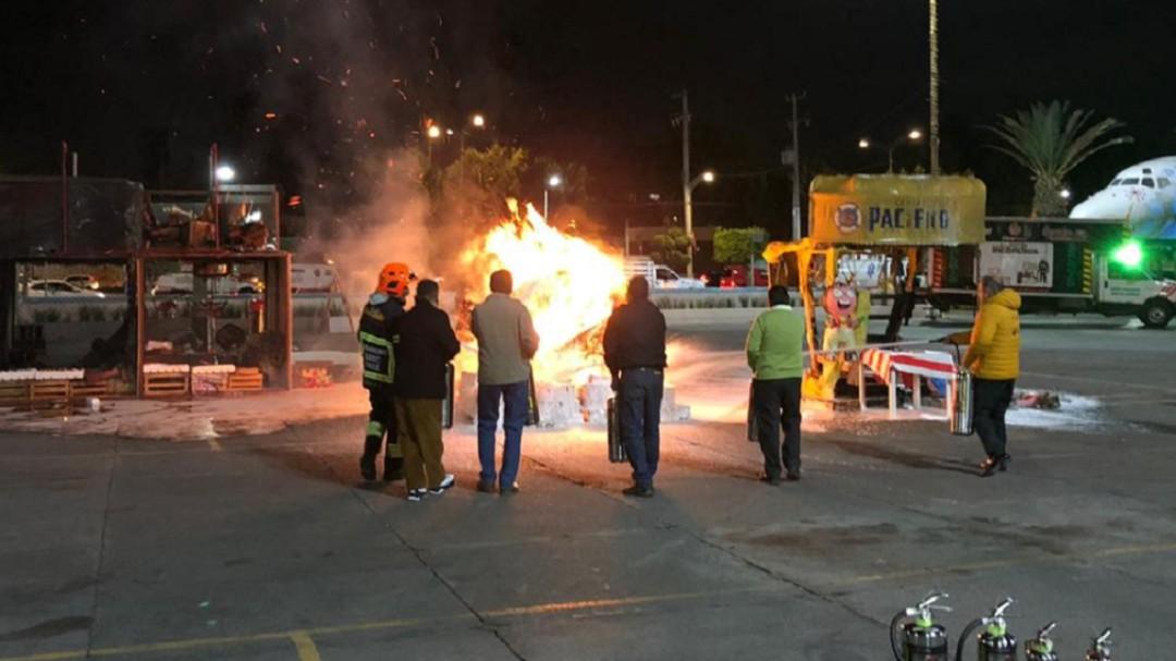 Alcaldía V. Carranza instalará equipos contra incendio en mercados
