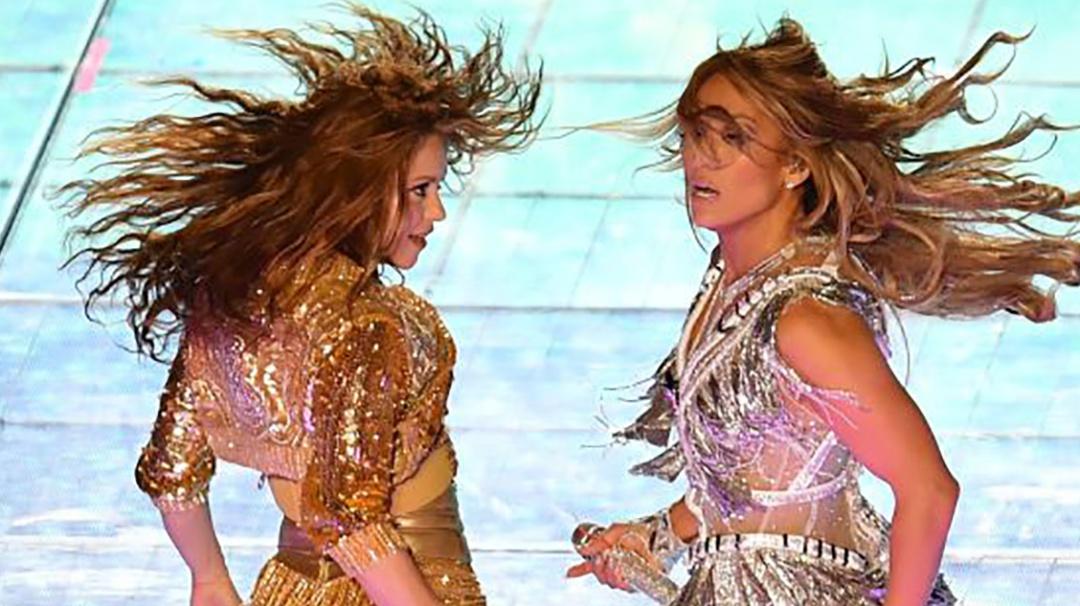 Los números que revelan la influencia de Shakira y JLo
