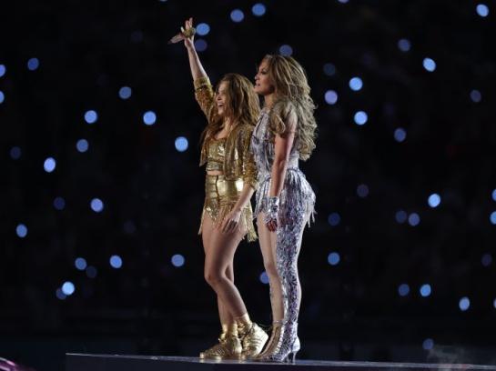 Shakira y JLo protagonizaron el show de medio tiempo en el Super Bowl