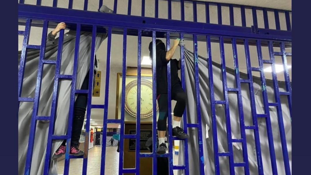Intentan toma violenta de la Facultad de Derecho de la UNAM