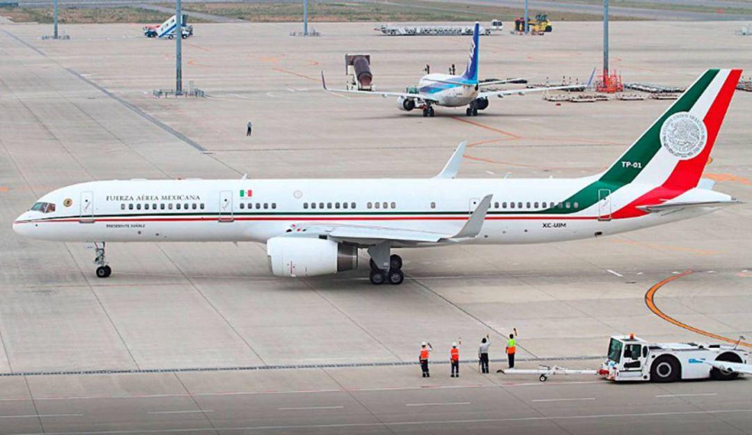Morena presenta iniciativa de ley para rifa de avión presidencial