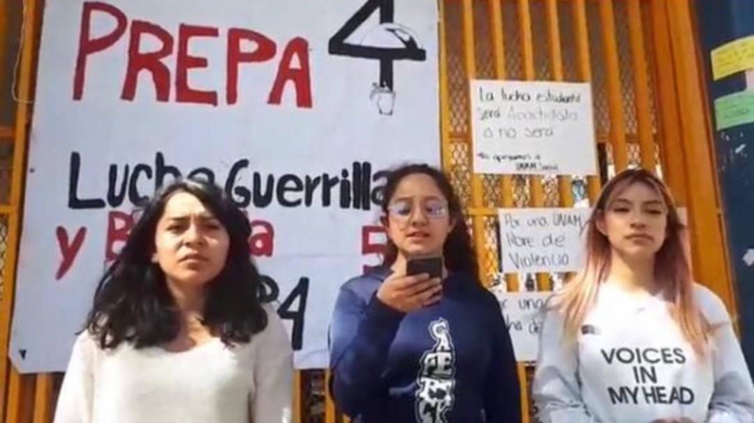Reconocen a paristas como integrantes de grupos ajenos a la UNAM
