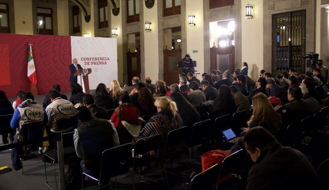 Conferencia de prensa de AMLO en vivo hoy 7 de febrero de 2020