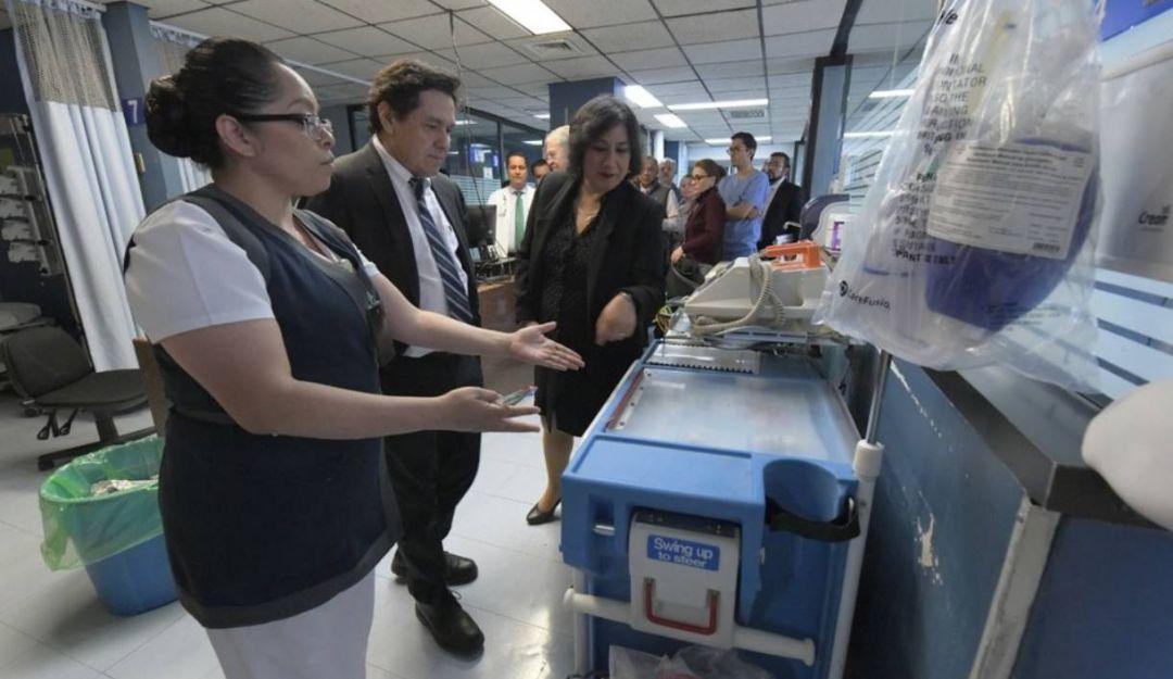 Continuarán las visitas sorpresas a hospitales: Irma Eréndira Sandoval