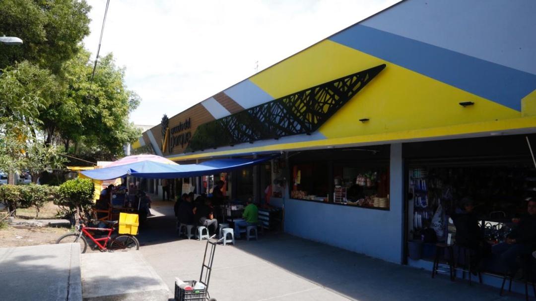 Rehabilta V. Carranza mercado más antiguo de la alcaldía