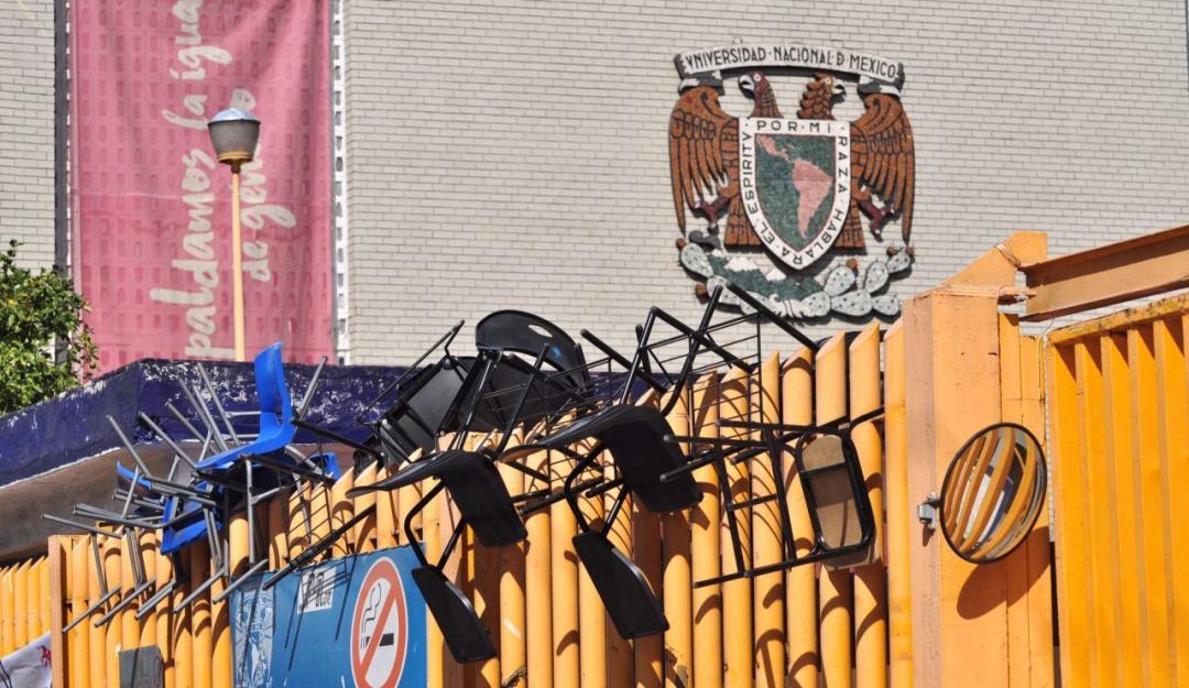 Levantan paro cinco escuelas y facultades de la UNAM