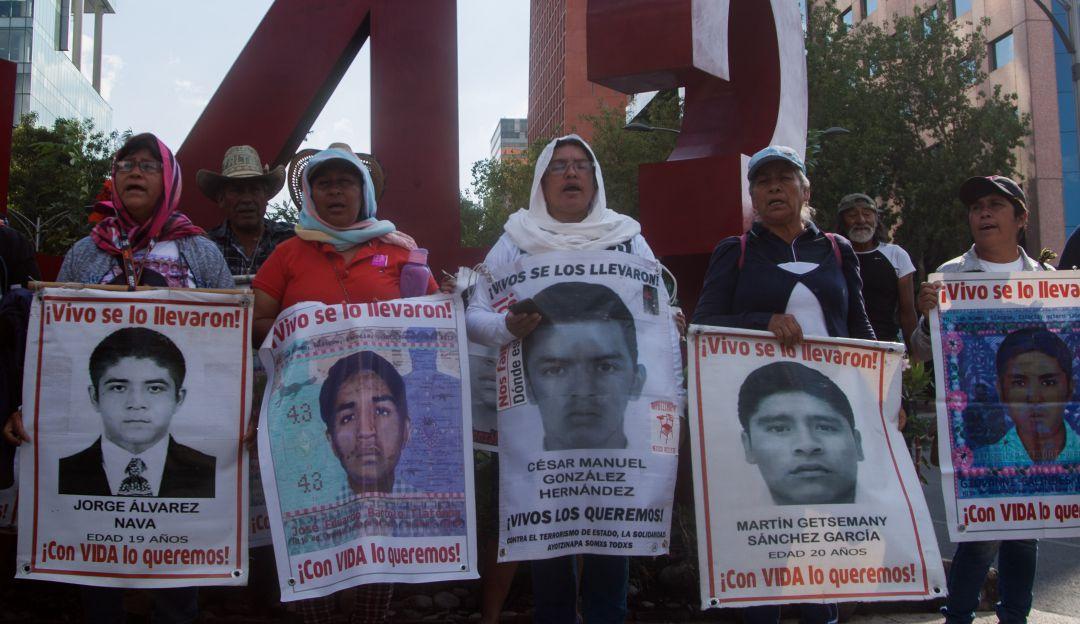 Trabajarán Segob, SCJN y FGR desaparición de los 43 de Ayotzinapa