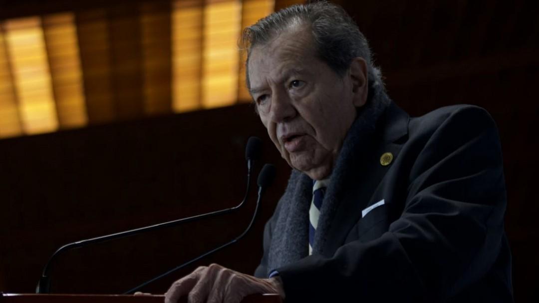 No estoy de acuerdo con la política de represión en la frontera: Muñoz Ledo