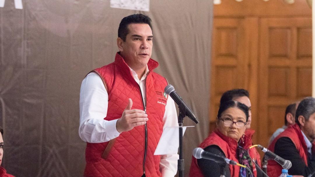 El PRI no comete delitos: Alejandro Moreno