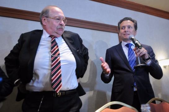 Conferencia de Emilio Lozoya en 2017 en la que negó los sobornos por 10 millones de dólares en el caso Odebrecht
