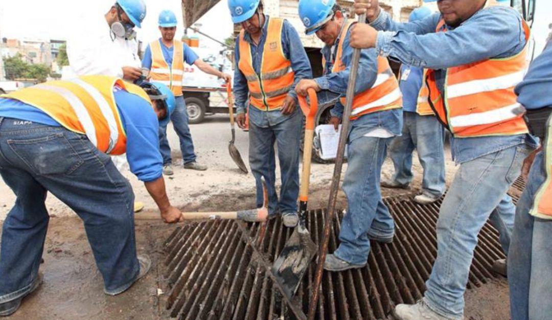 SIAPA inicia labores de limpieza en drenajes de la ZMG