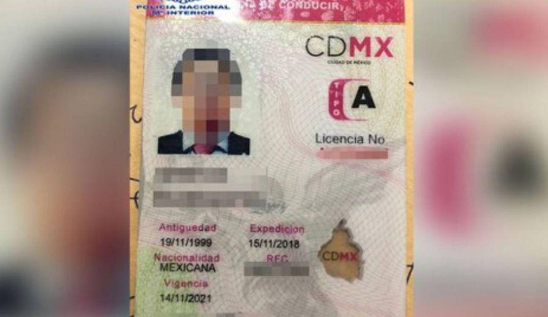 Semovi investiga licencia falsa de Lozoya