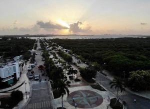 Malecón Tajamar para los cancunenses