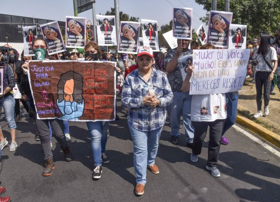 Familiares exigen justicia por feminicidio de Ingrid