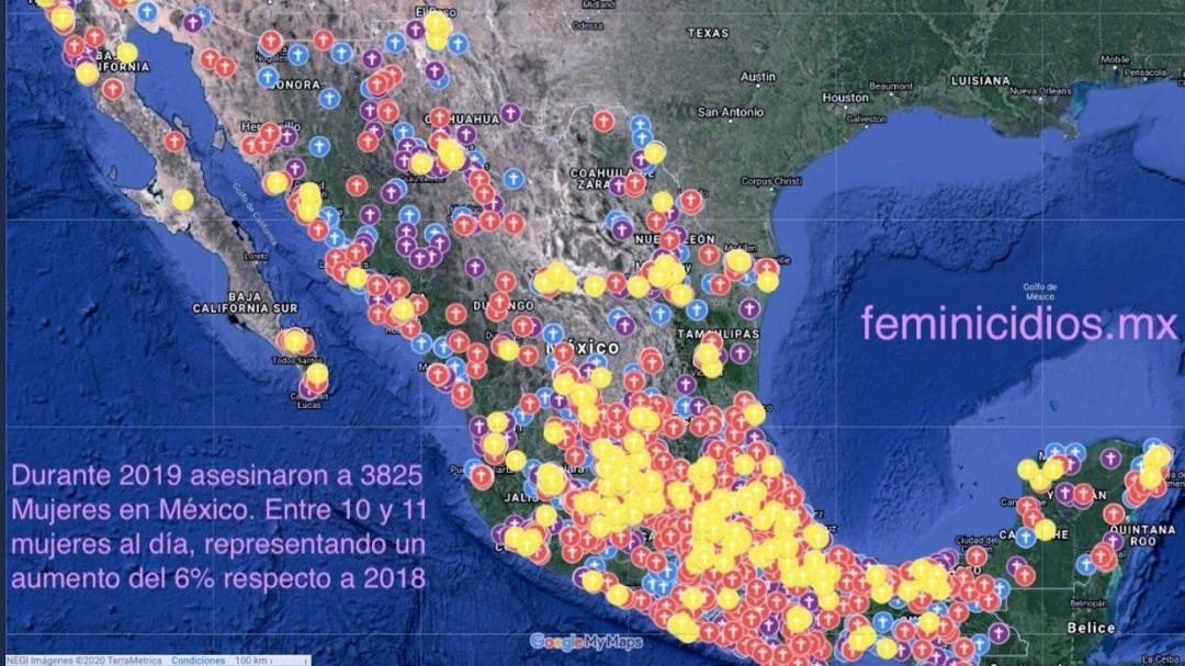 Colima encabeza el Mapa Nacional de Feminicidios: María Salguero