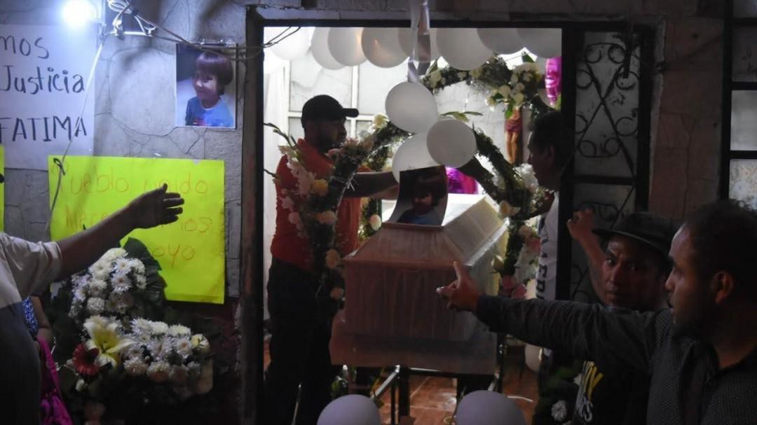 Tristeza y rabia al recibir el cuerpo de Fátima: Nayeli Roldán