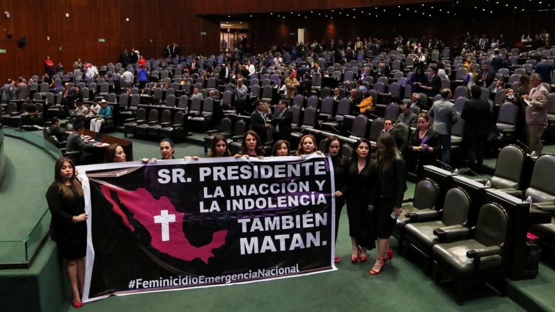 Piden diputados acciones para prevenir y castigar feminicidios