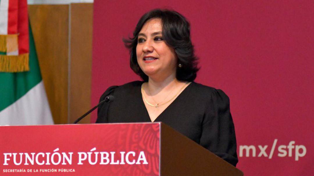"""Irma Eréndira Sandoval propone """"paro de hombres"""""""