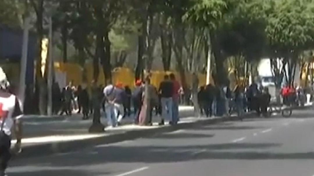 Encapuchados dejan 14 lesionados en CCH Azcapotzalco
