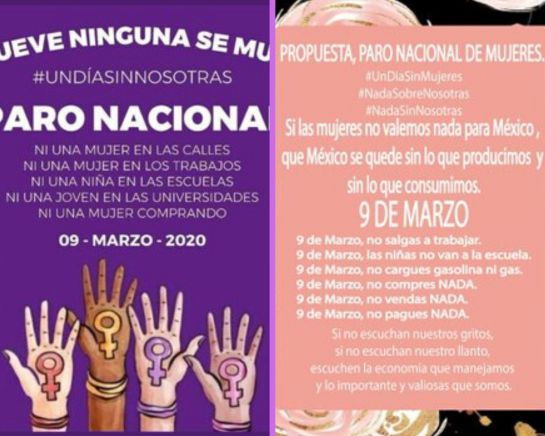 En el paro nacional de mujeres, los hombres pueden apoyar así el 9 de marzo
