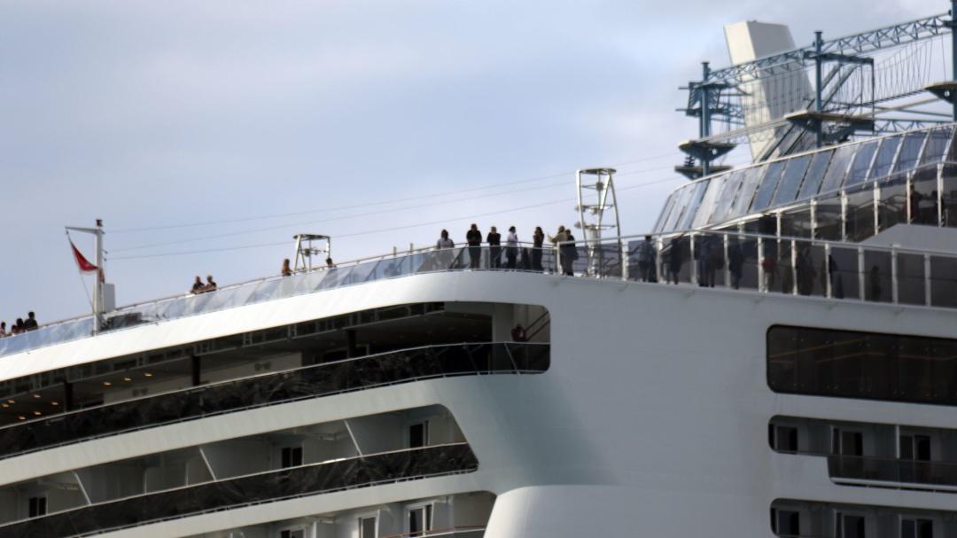 Nadie nos ha hecho pruebas médicas: mexicana en crucero varado en Cozumel