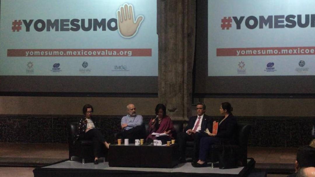 Presenta México Evalúa su iniciativa #YOMESUMO