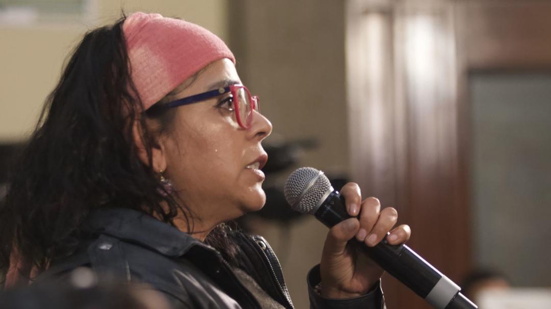 Nunca he lucrado con el tema del feminicidio: Frida Guerrera