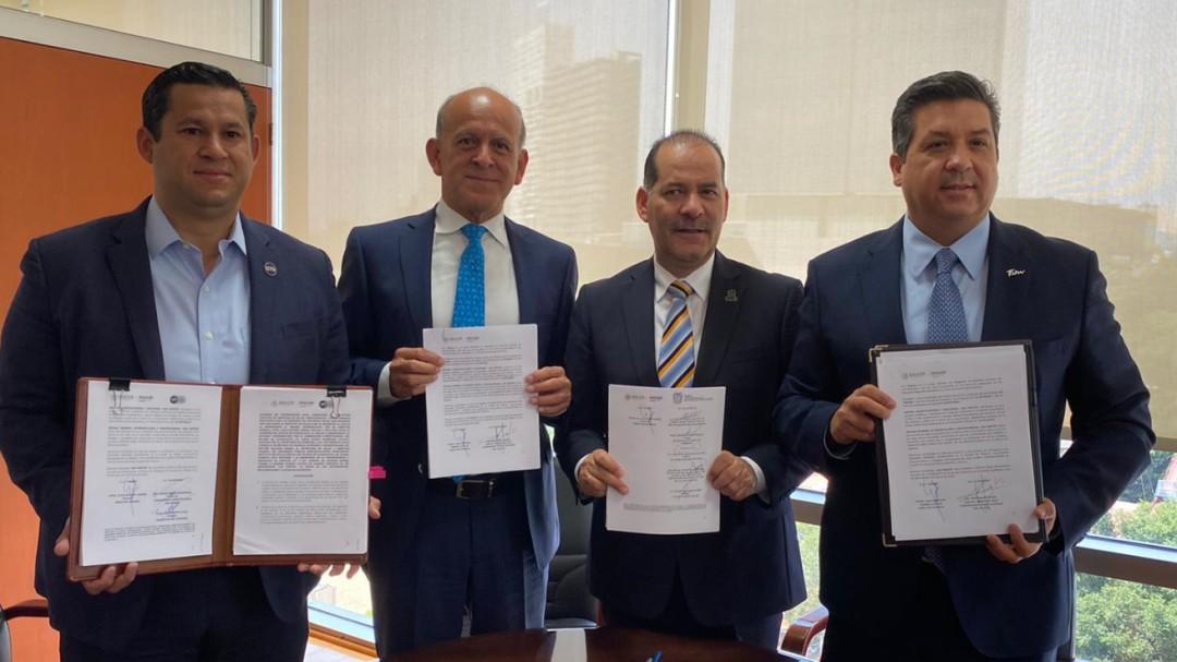 Firman gobernadores de la GOAN convenio de no adhesión a INSABI