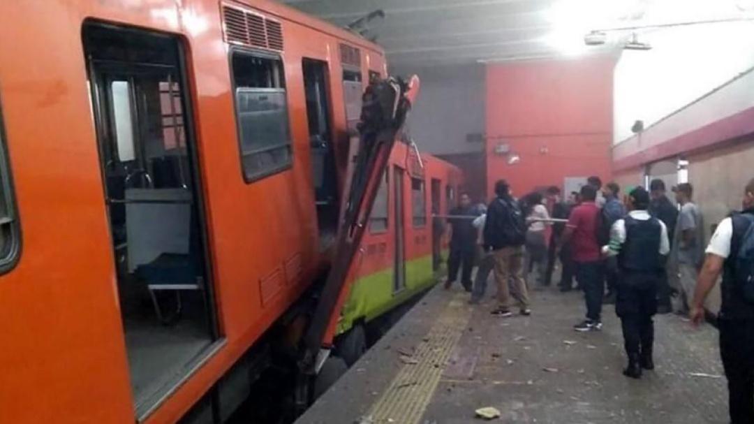 Tren del Metro perdió modos de conducción: Florencia Serranía