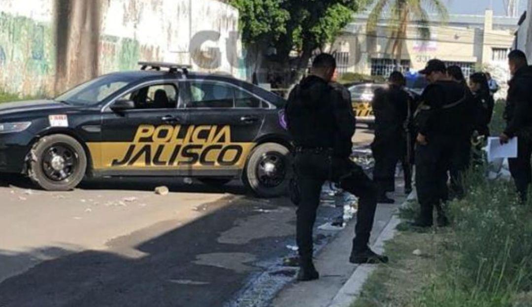 Queman cuerpo en calles de Guadalajara