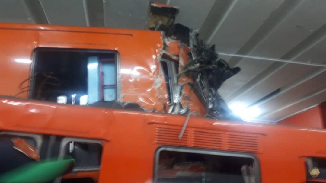 Choque de trenes dejó un muerto y 40 heridos: Metro