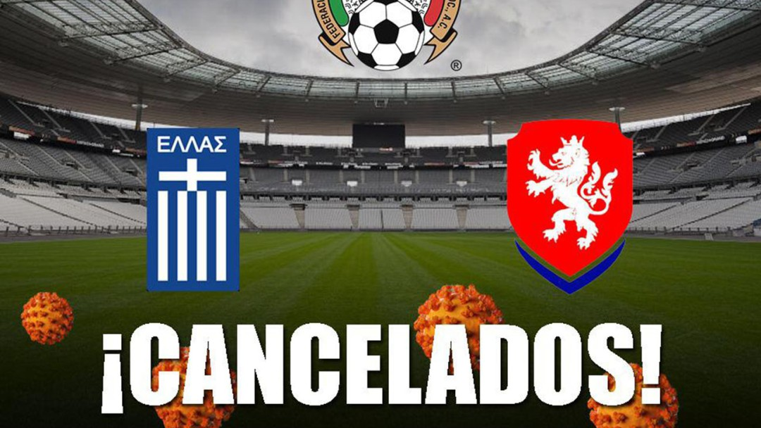 Se cancelan los amistosos de la Selección Mexicana por Coronavirus