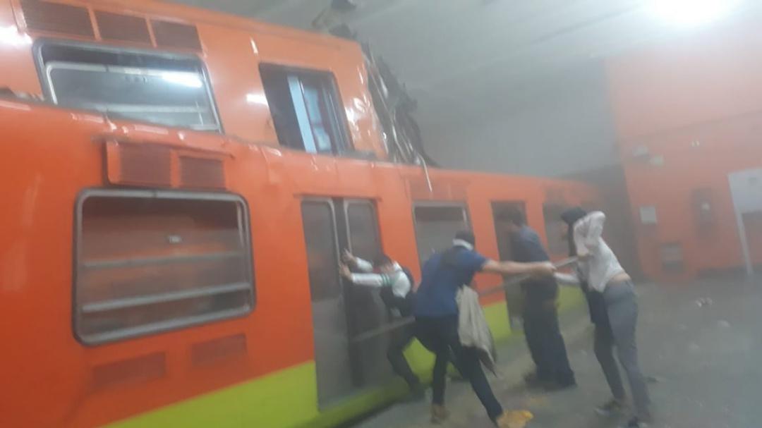 Lo que se sabe del choque del Metro en la CDMX