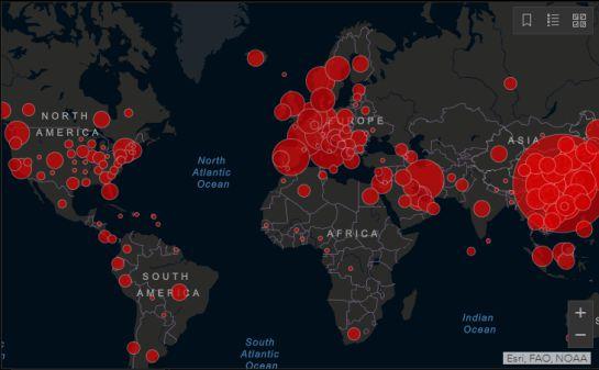 Captura de pantalla de gisanddata.maps.arcgis.com