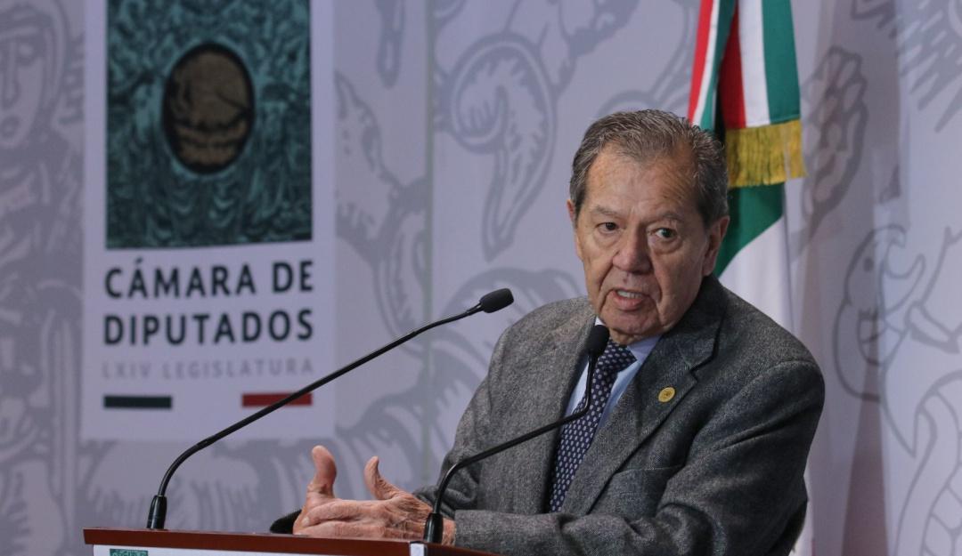 "No he sido ""ninguneado"" por eso no me voy de Morena: Muñoz Ledo"