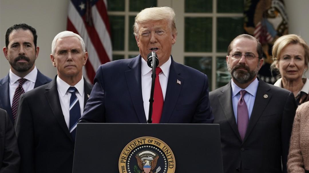 Trump declara emergencia nacional por COVID-19